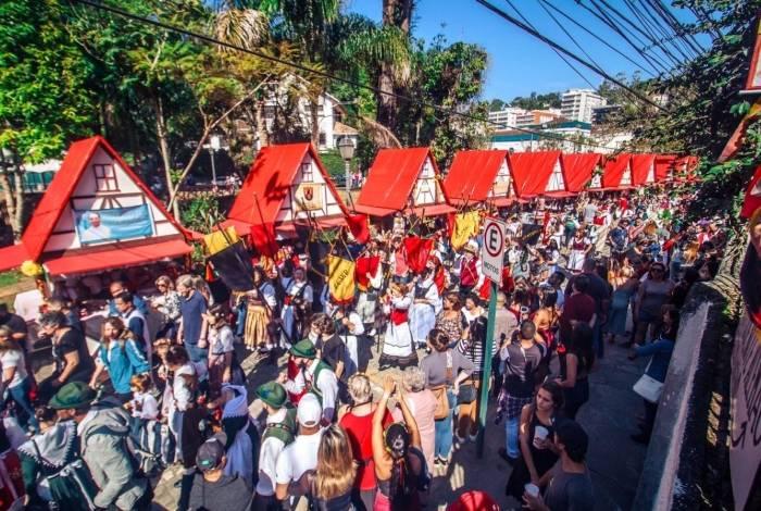 Festa do colono terá desfiles pelas ruas do Centro Histórico e comidas típicas, entre outras atrações