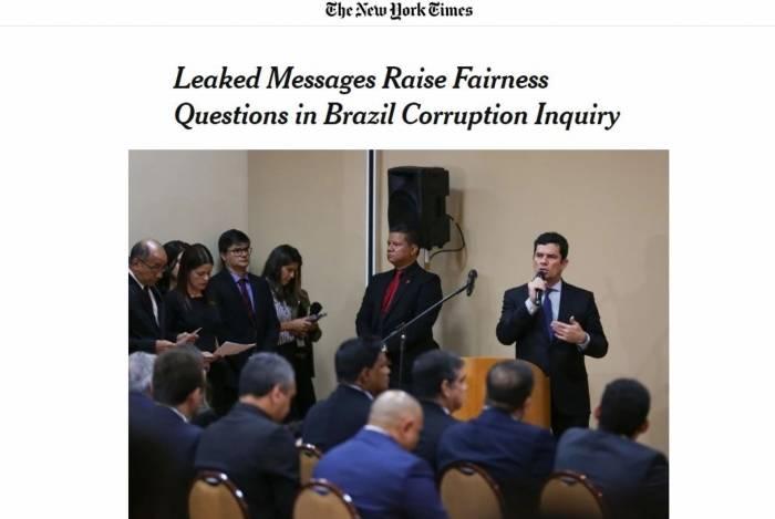 Mensagens vazadas levantam questões sobre Inquérito contra corrupção no Brasil