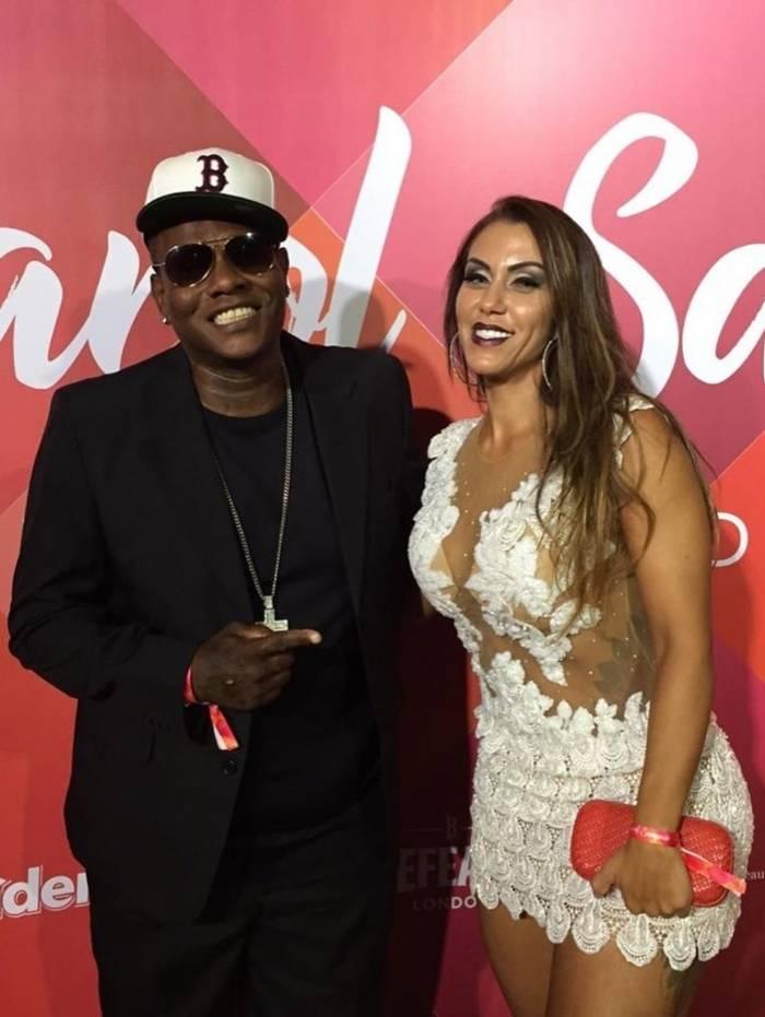 MC Sapão e Alessandra Araújo