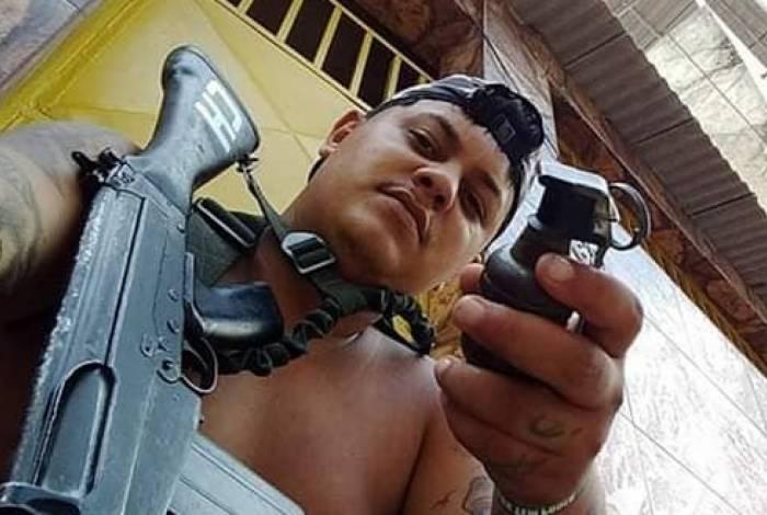 Douglas Rufino dos Santos foi segurança do chefe do tráfico Charlinho do Lixão