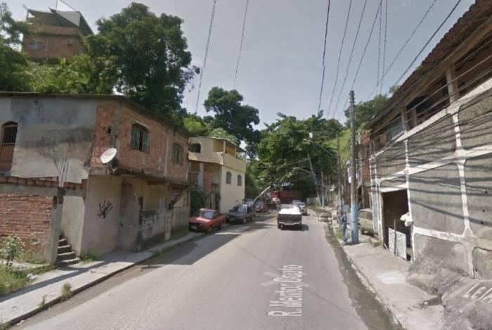 Rua Mentor Couto, onde corpos teriam sido encontrados