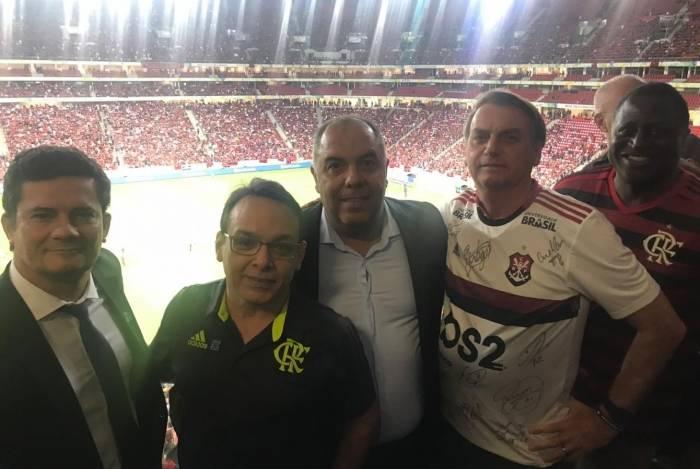 Bolsonaro ouve do Flamengo sugestões de mudanças nas leis relativas ao futebol