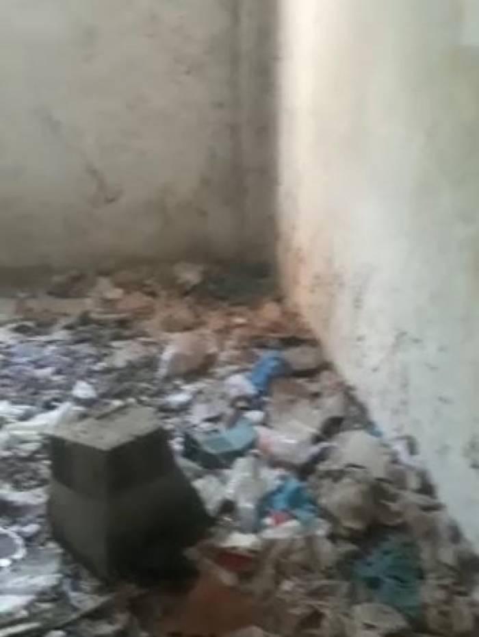 Casa foi abandonada há quinze dias em Engenho de Dentro