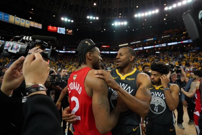 Toronto Raptors bateu o Golden State Warriors na final da NBA