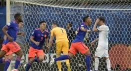 Colômbia derrotou a Argentina