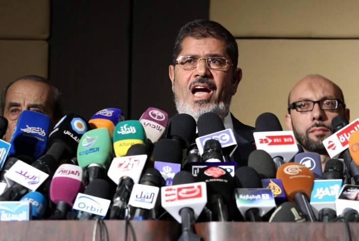 O ex-presidente egípcio Mohamed Morsi morreu em 17 de junho de 2019 em um hospital do Cairo depois de desmaiar em uma sessão judicial