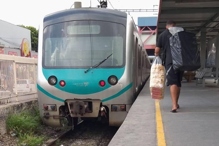 Tiroteios já alteraram a circulação de trens, como os do ramal Belford Roxo, 58 vezes este ano