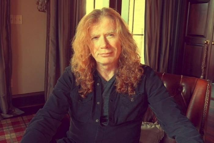 Dave Mustaine, vocalista do Megadeth