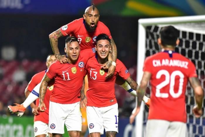 Chile goleou o Japão