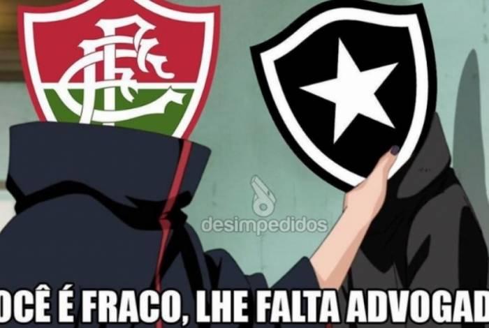 Botafogo foi ironizado por derrota no STJD
