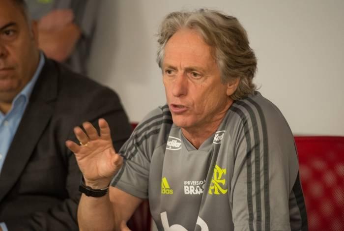 Jesus busca reforços para o Flamengo