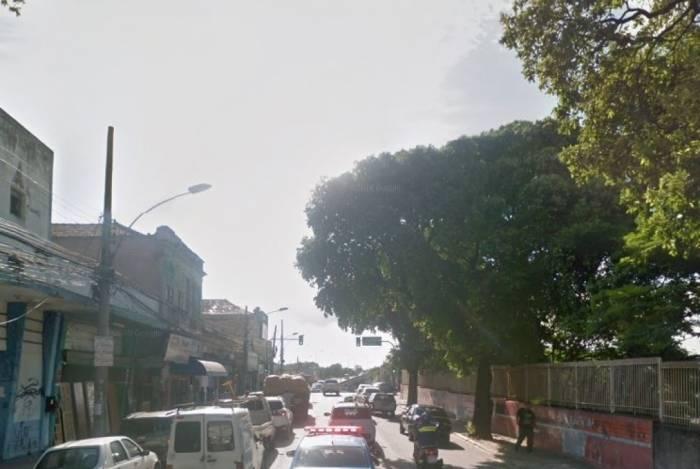 Rua João Vicente local onde crime aconteceu