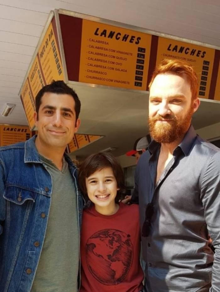 Kaysar Dadour, Rafael Sun e Alex Moreno