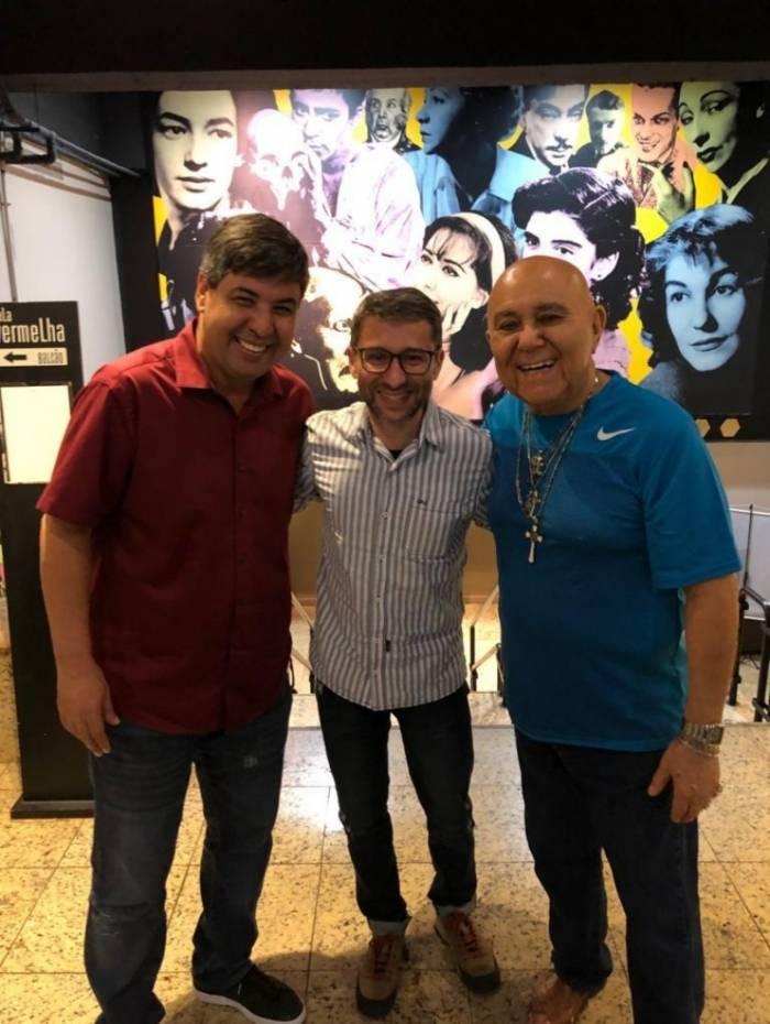 Edilson Silva, Tadeu Mello e Roberto Guilherme