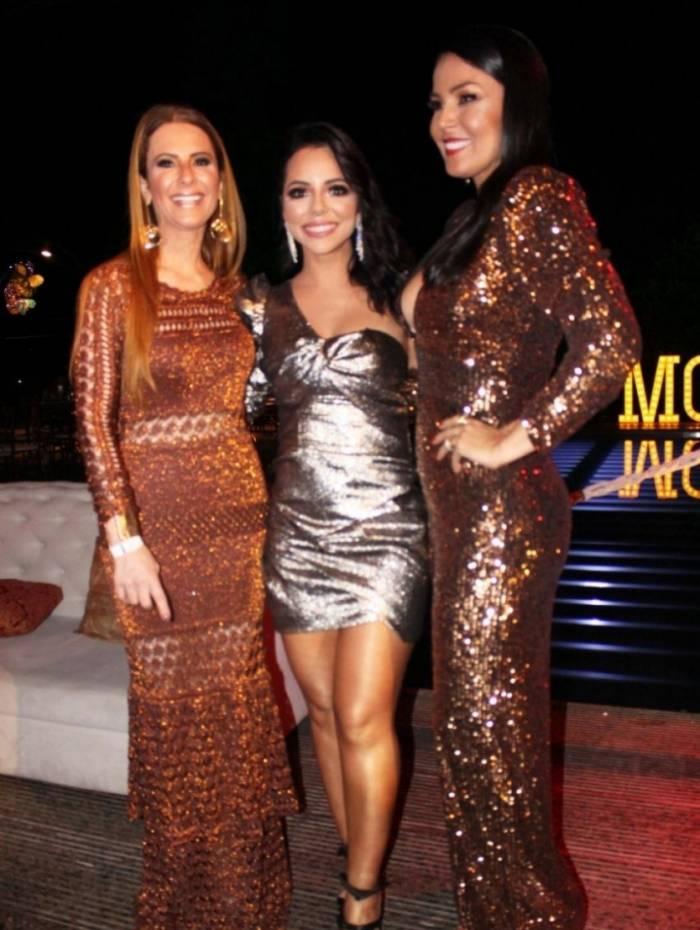 Roberta Niemeyer, Monique Elias e Gardênia Cavalcante