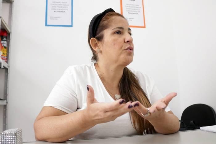 A médica geriatra Deborah Casarsa é a coordenadora do Centro de Doença de Alzheimer e Parkinson de Campos, que acompanha 6 mil pacientes