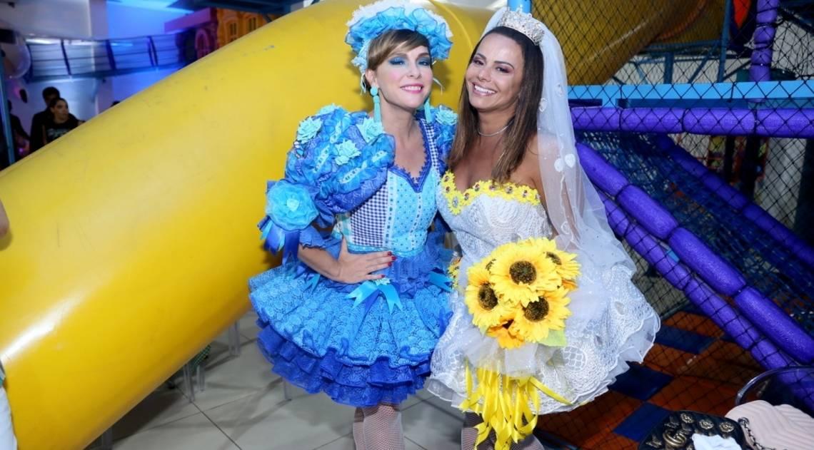 Regiane Alves e Viviane Araujo