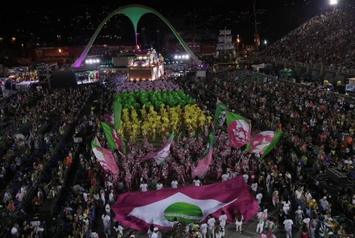 Mangueira foi a campeã do Carnaval 2019