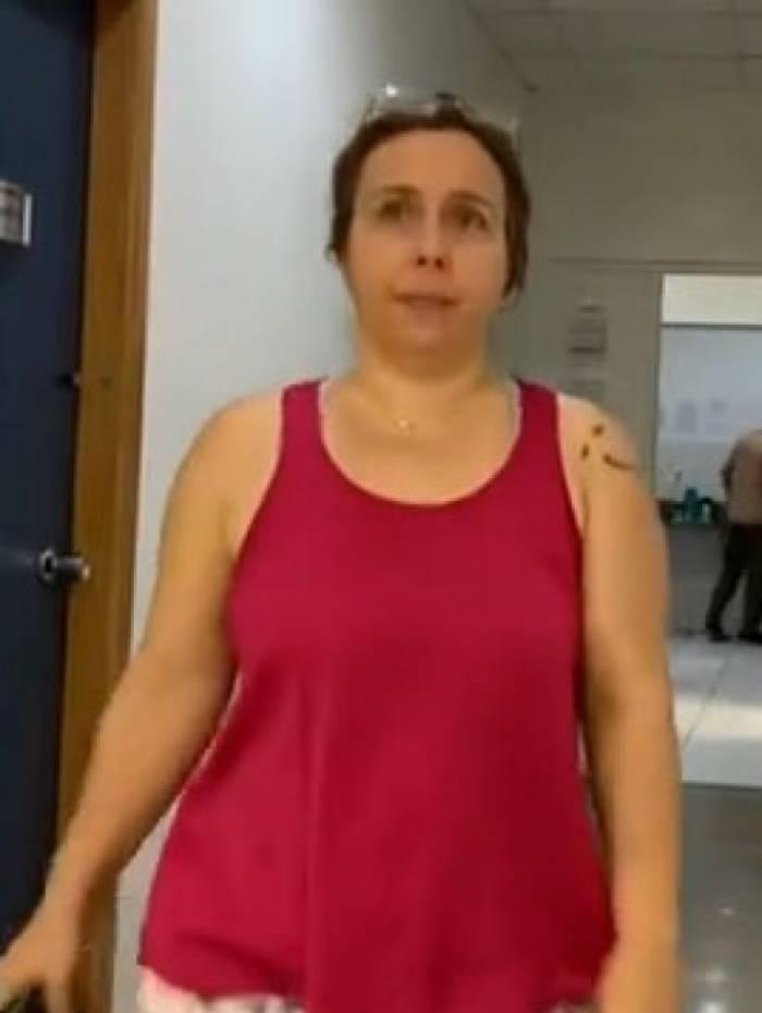 Adriana dos Santos Stumbo foi levada para a Cidade da Polícia
