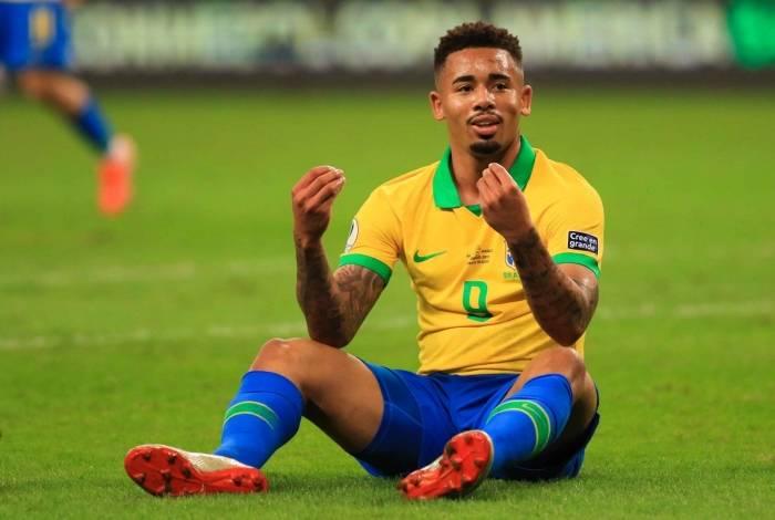 Gabriel Jesus foi criticado na Copa do Mundo, mas teve bom desempenho na Copa América