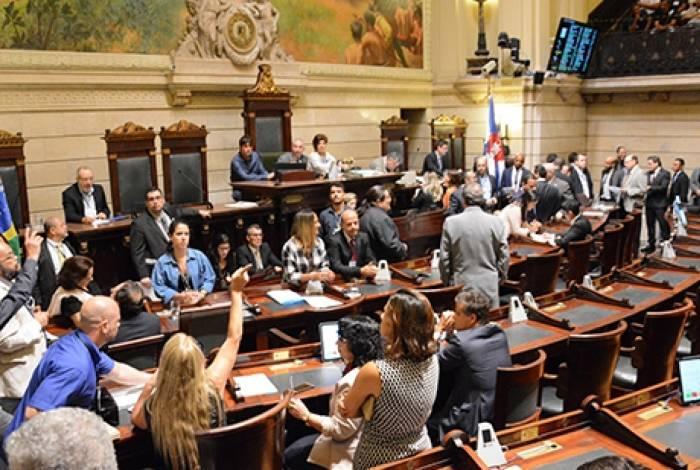 Plenário da Câmara Municipal