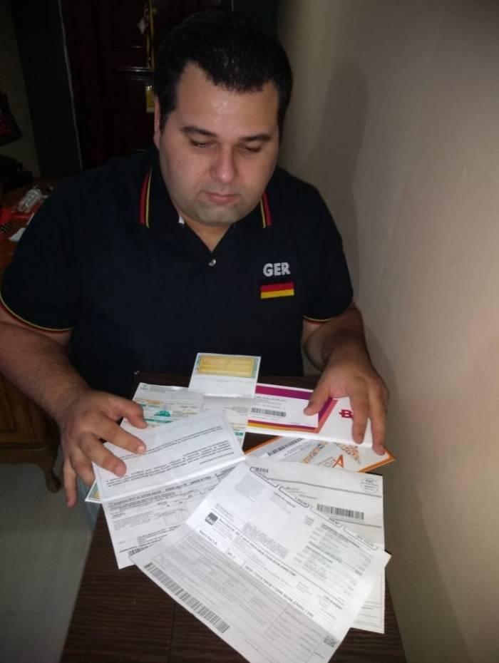 Thiago Gil, motorista por aplicativo: 'Não sobra nem um real para pagar minhas dívidas. Todo ano tem feirão para renegociar, mas não vou porque não tenho condições'