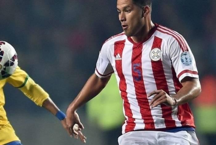 Bruno Valdez disputou a Copa América pela seleção do Paraguai