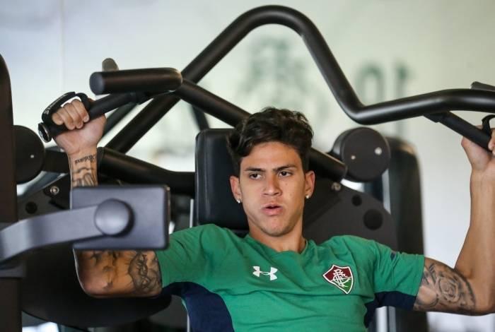 Pedro será desfalque no Fluminense