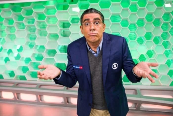 Marcelo Adnet tem imitado os narradores da TV Globo ao longo da programação