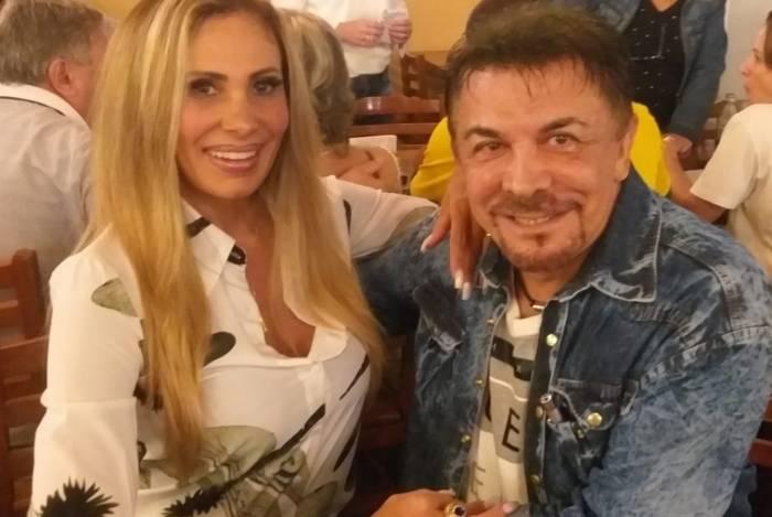 Ângela Bismarchi e Wagner de Moraes