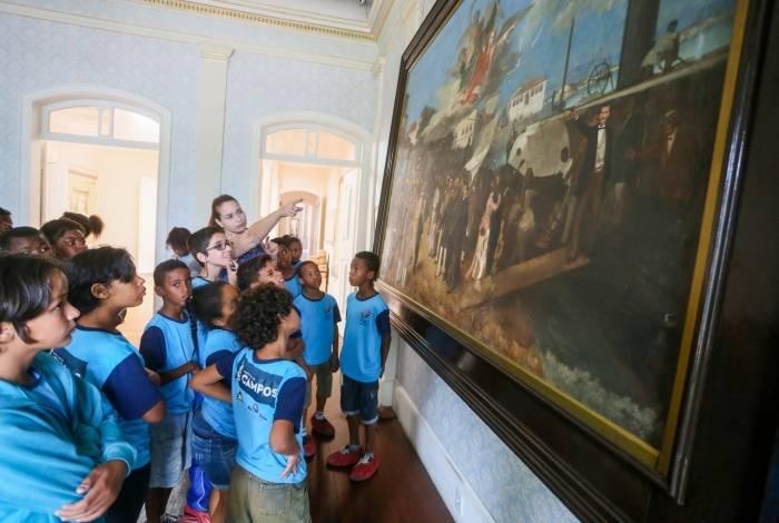 As celebrações pelo aniversário de sete anos do Museu Histórico de Campos começam com uma visita guiada