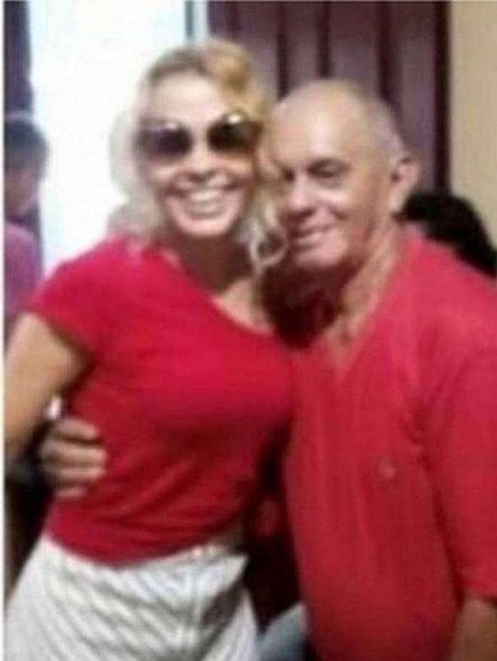 Joelma e pai