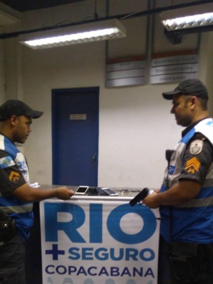 Programa Rio+Seguro captura dois rapazes suspeitos de roubo em Copacabana