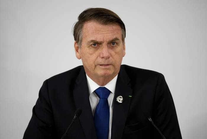 Bolsonaro em coletiva de imprensa durante o G20
