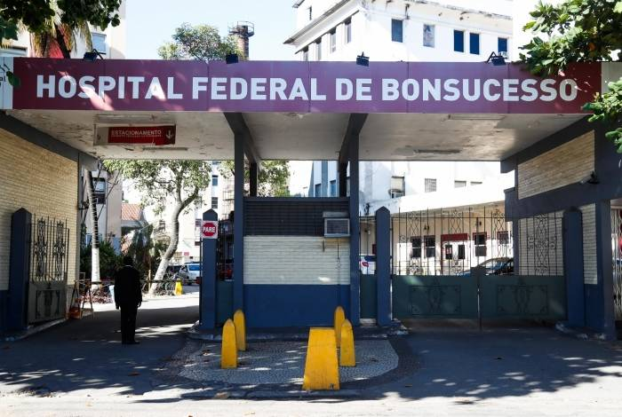 Rio, 29/06/2019, Falta de médicos no Hospital de Bonsucesso, na foto fachada, Foto de Gilvan de Souza / Agencia O Dia