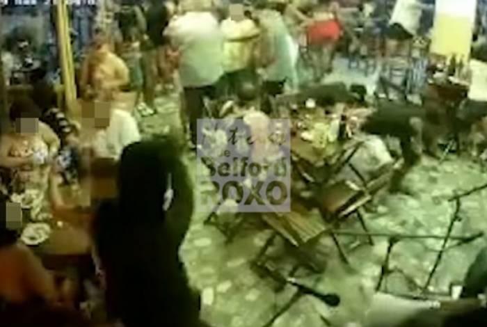 Imagens registram momento exato de chacina que aconteceu em Belford Roxo reste sábado