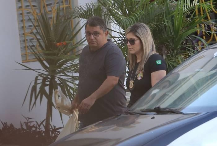 Renan Saad foi preso no dia 1º de Julho e levado à sede da Policia Federal no Rio