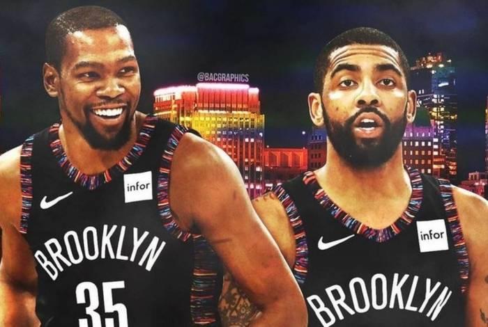 Dupla eleva o Brooklyn Nets a condição de postulante ao título da NBA