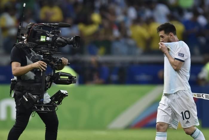 Messi: compromisso com seu país
