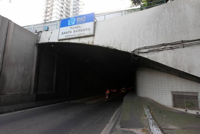 Homem morre em acidente no túnel Santa Bárbara