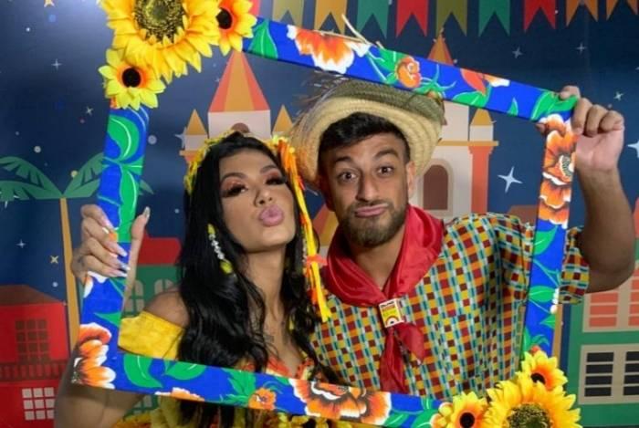 MC Pocahontas e Rodrigo Lourenço