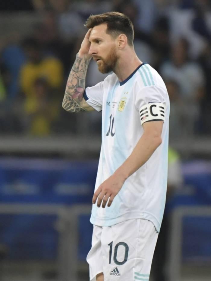 Argentina pode não jogar a Copa América