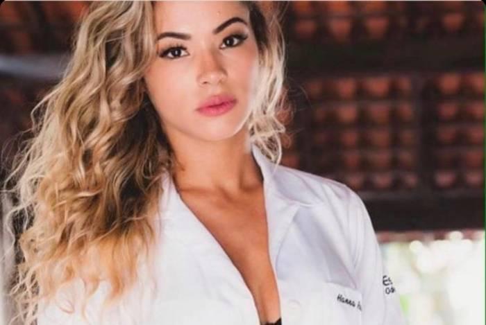 Hanna Alvarez, a nova namorada de Adriano Imperador