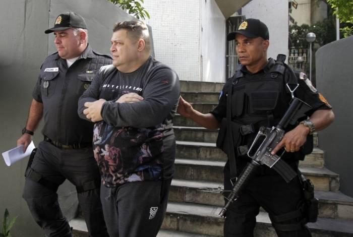 O PM Clayton da Silva Novaes foi um dos presos na operação desta quarta