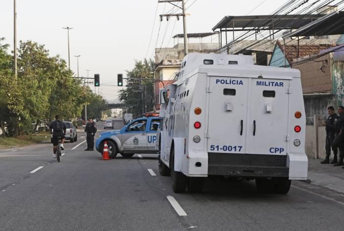 Blindado da CPP participou da operação