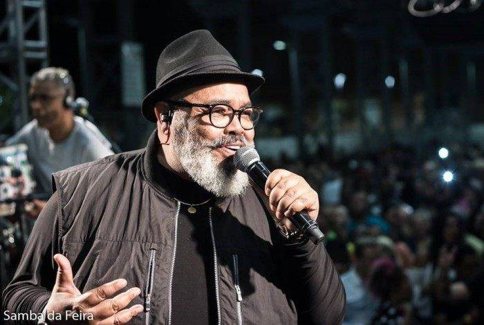 Jorge Aragão no Samba da Feira