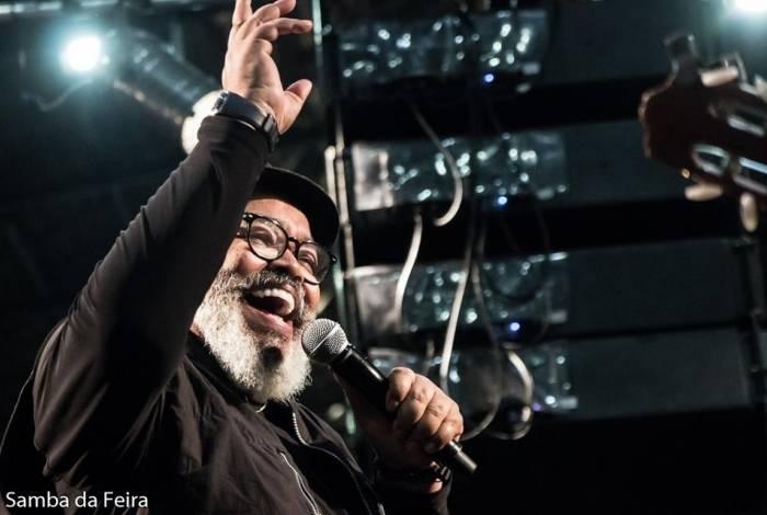Samba da Feira com Jorge Aragão: 70 anos de idade e 40 de carreira