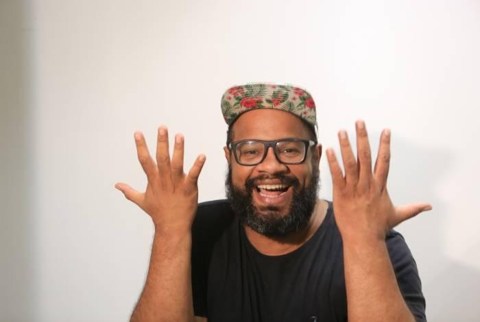 Na foto o novo colunista do Jornal O Dia André Gabeh - Foto: Ricardo Cassiano / Agência O Dia