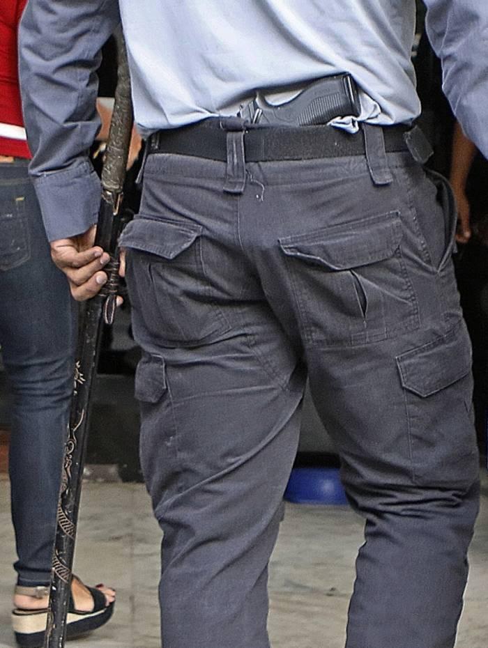Rio de Janeiro - RJ  - 04/07/2019 - Operaçao Policial - Policiais fazem na manha de hoje, operaçao em Itaborai para prender criminosos ligados a milicia - Foto: Reginaldo Pimenta / Agencia O Dia