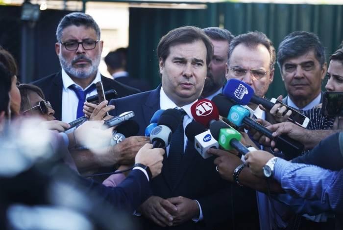 Rodrigo Maia (DEM-RJ) está empenhado em conseguir os votos necessários para aprovar reforma da Previdência